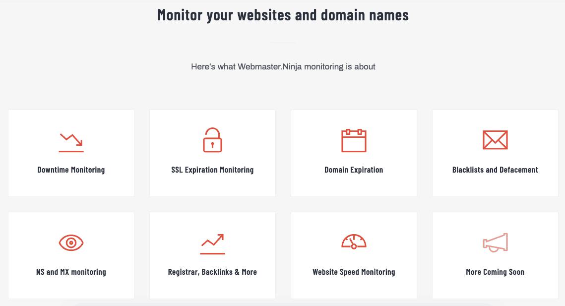Monitoring Webmaster Ninja