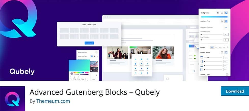 Qubely is another useful plugin on the list with quite many unique blocks at your disposal.