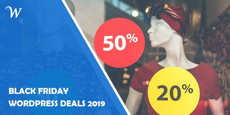 Black Friday & Cyber Monday WordPress Deals 2019