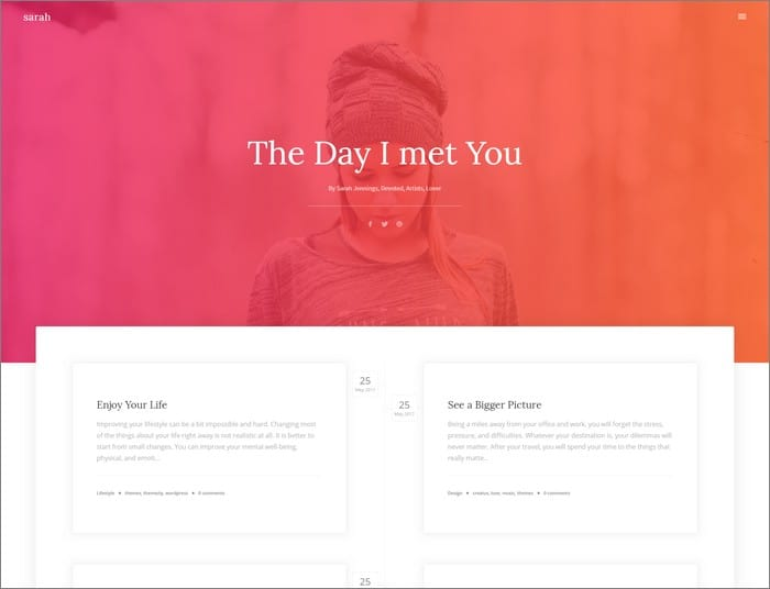Themezly Q1. Creatus is our free, highly customizable multipurpose WordPress theme that comes