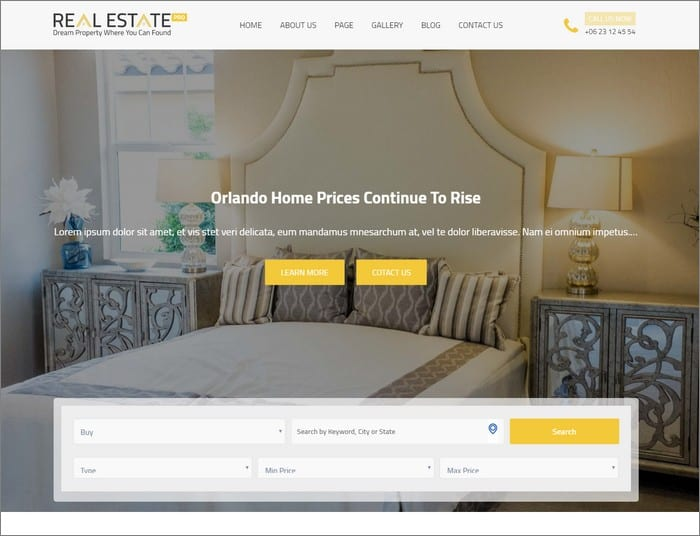 Theme 404 Q1. Real Estater is the perfect WordPress real estate theme that is sure to take your site to the next level.