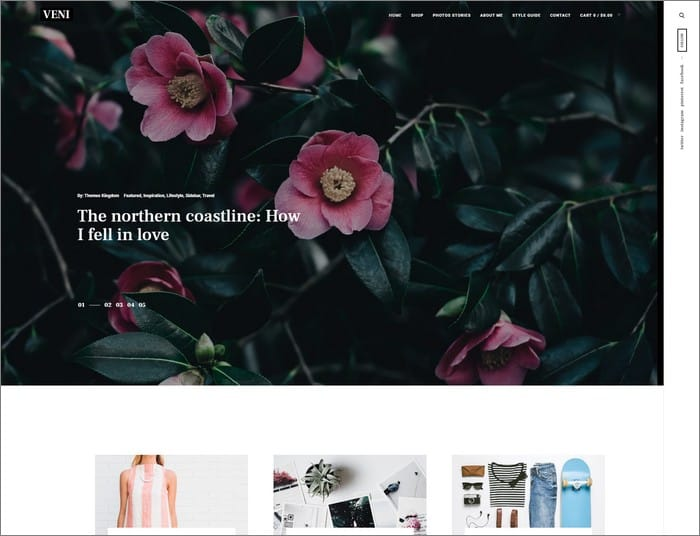 Veni is the best selling WordPress theme in 2019 from Themes Kingdom.