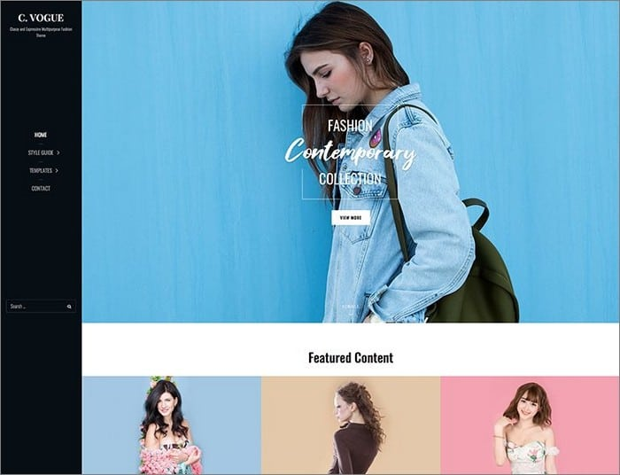 Catch Vogue Pro is Catch Themes best selling theme.