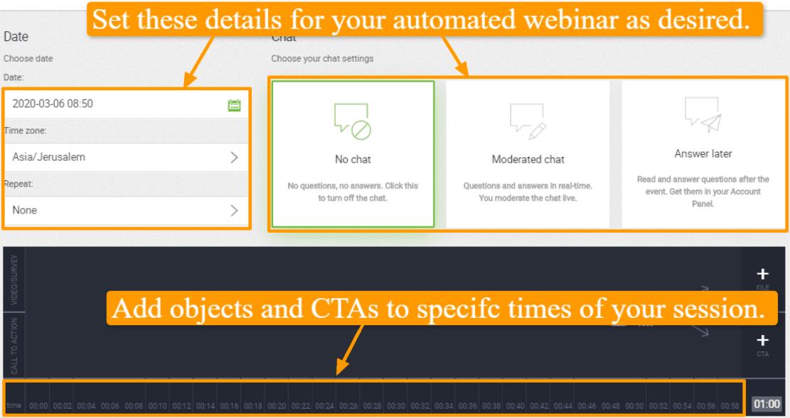 Automate Webinars
