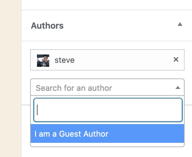 Remove Authors
