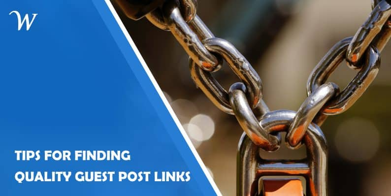 Finding Quality Guest Post Links