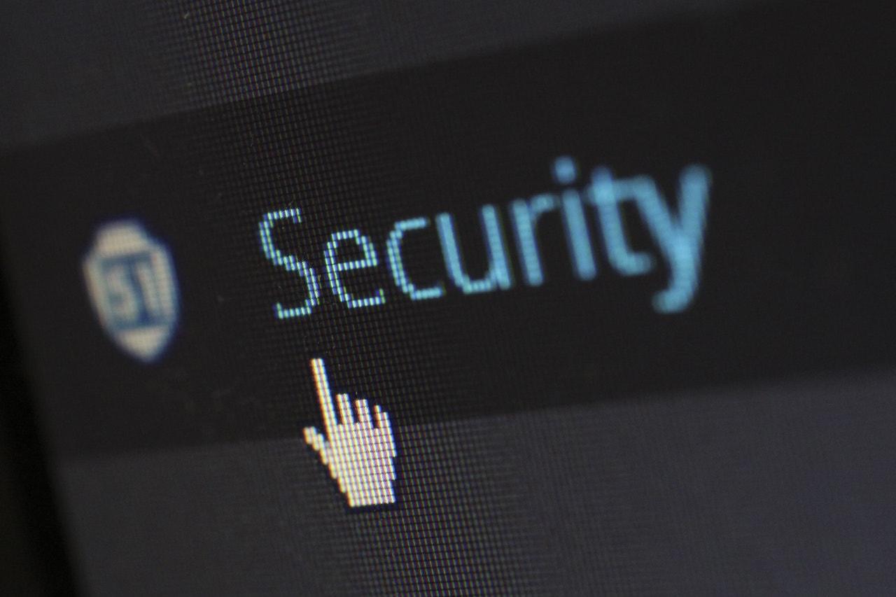 WordPress security tab