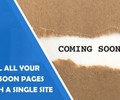 Control All Your Wordpress Coming Soon Pages Through a Single Site