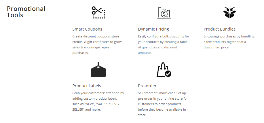 SmartSeller promo tools