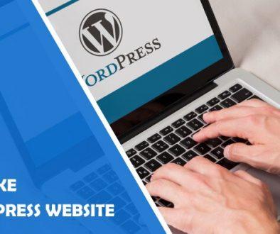 Why Make a WordPress Website