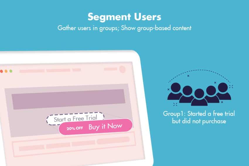 If-So segmenting users
