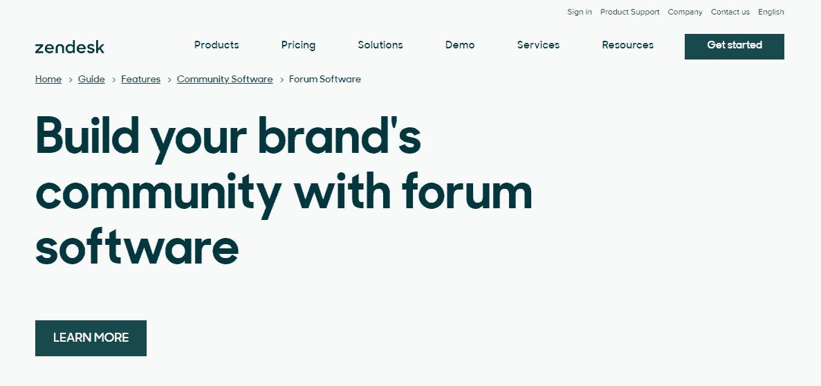 Zendesk's Forum Software