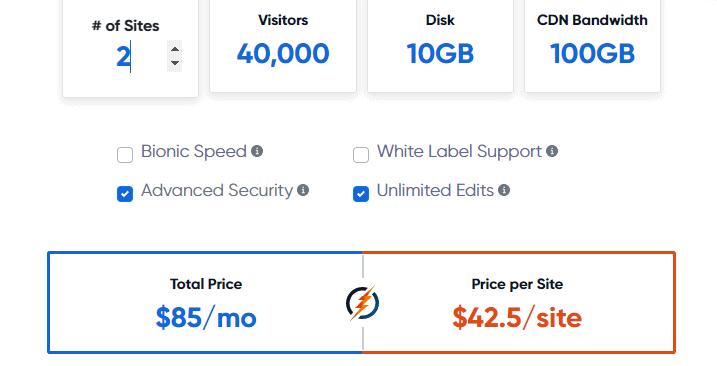 BionicWP price