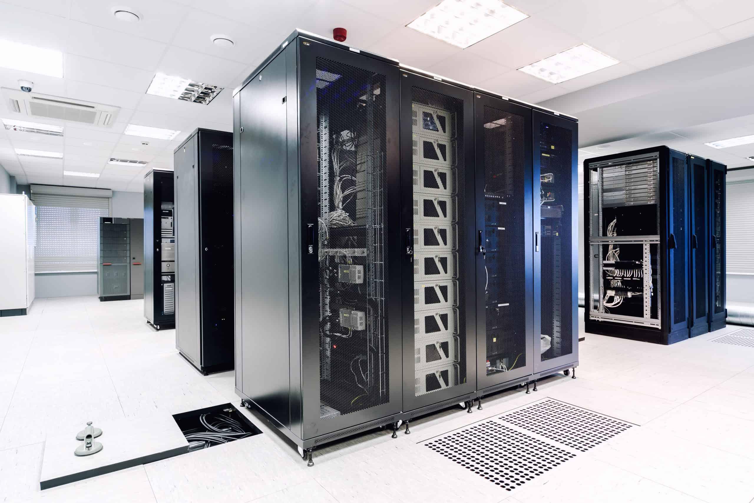 Inside server room