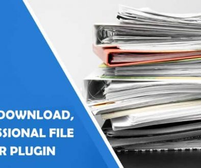 WP File Download, a Professional WordPress File Manager Plugin