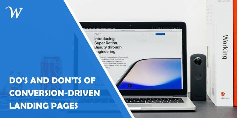 13 Do's and Don'ts of Conversion-Driven Landing Pages