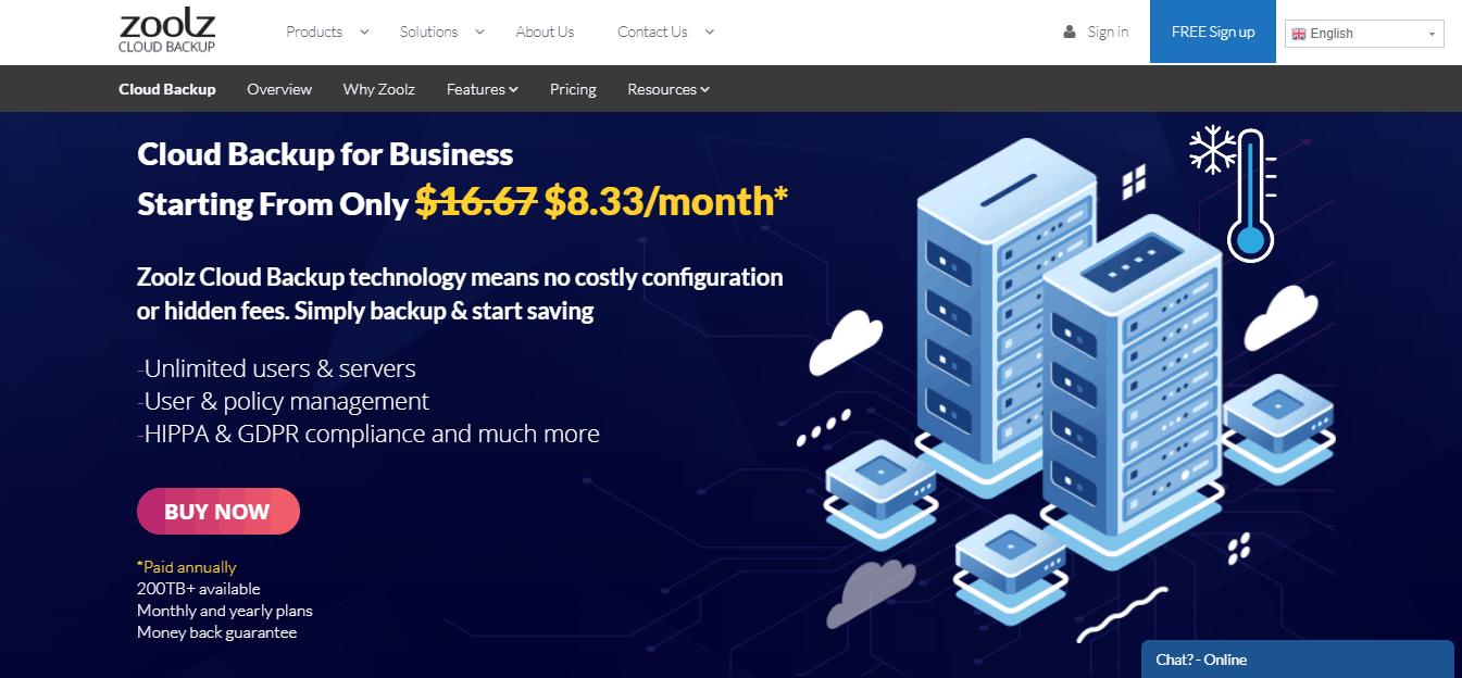 Zoolz Cloud Backup