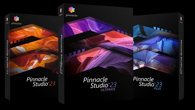 Pinnacle Studio different versions