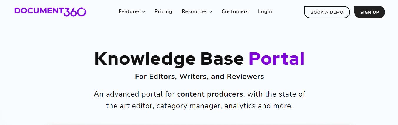 Knowledge Base Portal