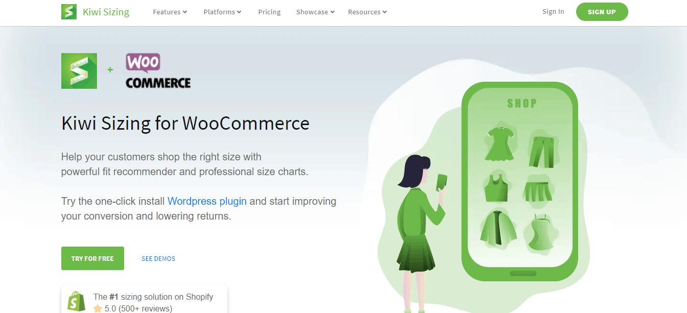 Kiwi Sizing for WooCommerce