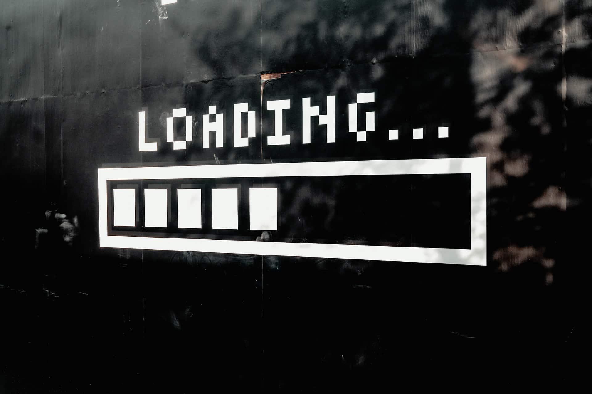 Loading sign
