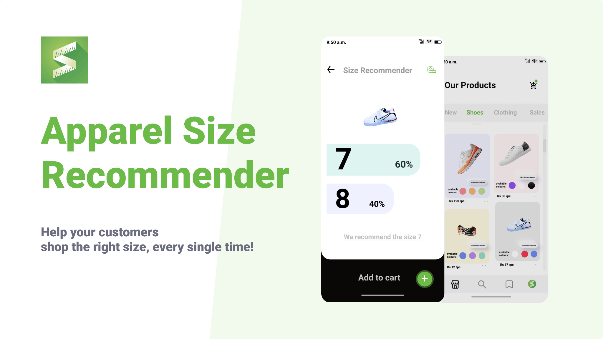 Size recommender